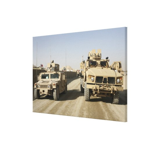 The Mine Resistant Ambush Protected Canvas Print