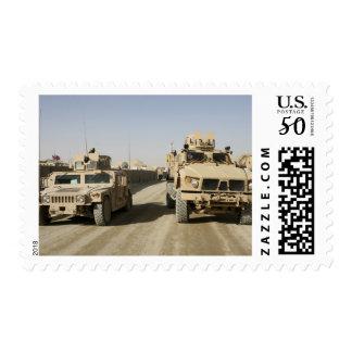 The Mine Resistant Ambush Protected Postage