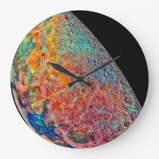 The Mineral Moon Wallclocks