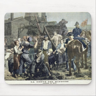 The Miner's Strike in Carmaux Mouse Pads