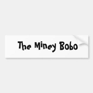 The Miney Bobo Bumper Sticker
