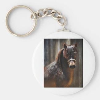 The Mini Stallion Keychain