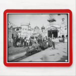 The Miniature Railway, Coney Island, N.Y.  c1905 Mouse Pads