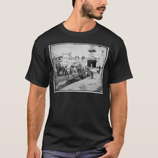The Miniature Railway, Coney Island, N.Y.  c1905 T-Shirt
