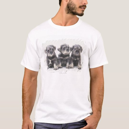 The Miniature Schnauzer is a breed of small dog T-Shirt