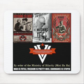 The Ministry of Hilarity Mouse Pad