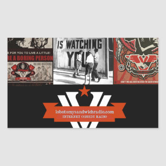 The Ministry of Hilarity Rectangular Stickers