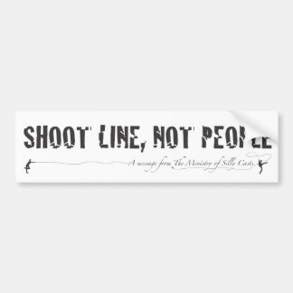 The Ministry of Silly Casts B2 Car Bumper Sticker