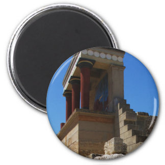 The Minoan Palace of Knossos photograph 2 Inch Round Magnet