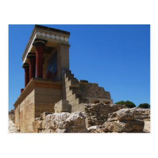 The Minoan Palace of Knossos photograph Postcard