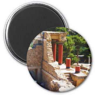 The Minoan Palace of Knossos picture Refrigerator Magnet