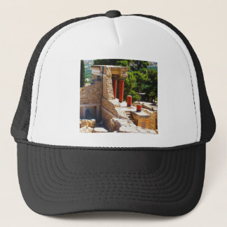 The Minoan Palace of Knossos picture Trucker Hat