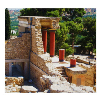 The Minoan Palace of Knossos POSTER