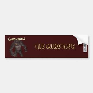 The Minotaur Bumper Sticker