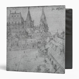 The Minster at Aachen, 1520 3 Ring Binder
