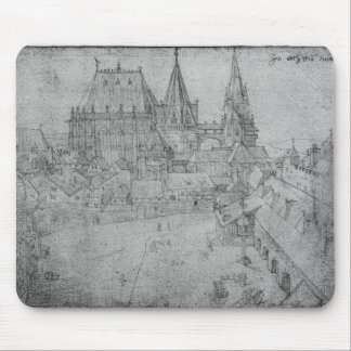 The Minster at Aachen, 1520 Mouse Pad