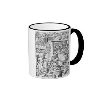 The Mint, after a woodcut in 'De l'Institution de Ringer Mug