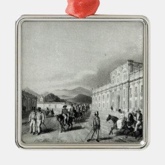 The Mint of Santiago Metal Ornament