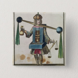 The Minter's Costume Pinback Button