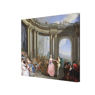 The Minuet Gallery Wrap Canvas