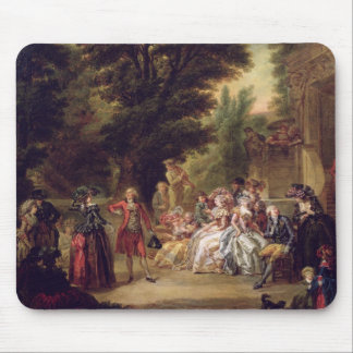 The Minuet under the Oak Tree, 1787 Mouse Pad