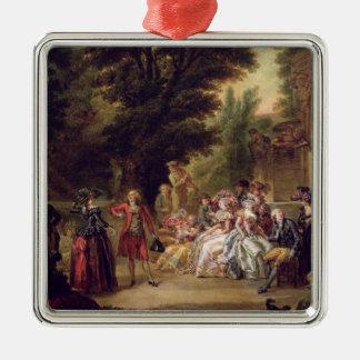 The Minuet under the Oak Tree, 1787 Ornaments