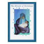 The Miracle Of Christmas Card
