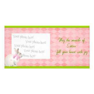 The Miracle of Easter Customized Photo Card