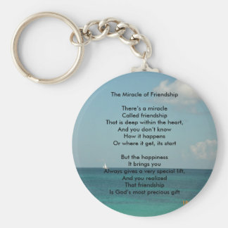 The Miracle of Friendship Key Chains