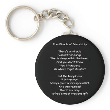 Motivational_Gifts The Miracle of Friendship Keychain