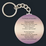"The Miracle of Friendship Keychain<br><div class=""desc"">The Miracle of Friendship design keychain. .</div>"