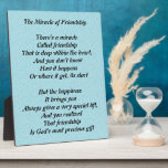 """The Miracle of Friendship plaque<br><div class=""""desc"""">The Miracle of Friendship Plaque</div>"""