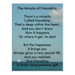 The Miracle of Friendship Post Cards
