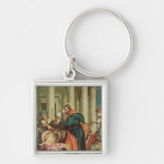 The Miracle of St. Barnabas, c.1566 Keychain