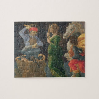 The Miracle of St. Eligius, predella panel from th Jigsaw Puzzle