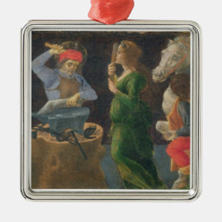 The Miracle of St. Eligius, predella panel from th Christmas Ornaments