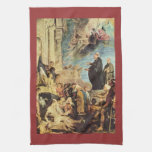 The Miracle of St. Francis Xavier by Paul Rubens Towel