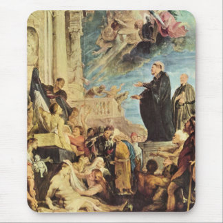The Miracle of St. Francis Xavier by Paul Rubens Mouse Pad