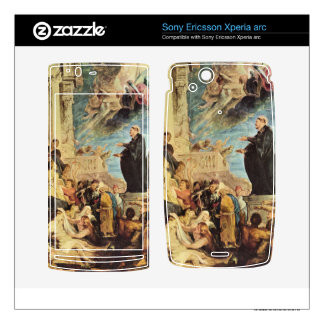 The Miracle of St. Francis Xavier by Paul Rubens Xperia Arc Skin