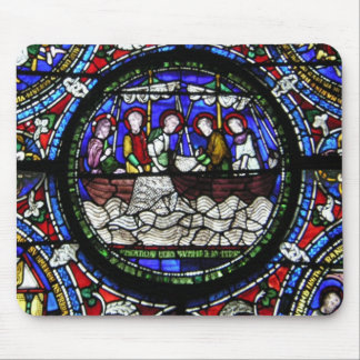 The Miracle of the Loaves and Fishes Mouse Pad