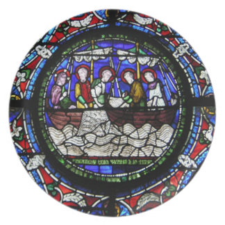 The Miracle of the Loaves and Fishes Plate