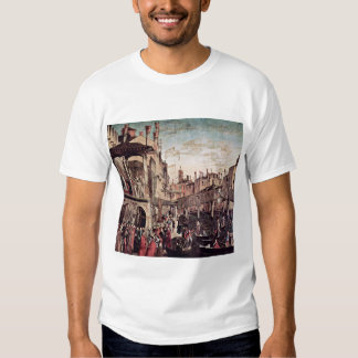 The Miracle Of The Relic Of The Holy Cross, By Car Tshirt