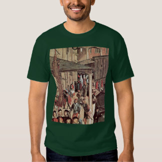 The Miracle Of The Relic Of The Holy Cross Detail Tshirts