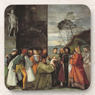 The Miracle of the Speech of the Newborn Child, 15 Beverage Coaster