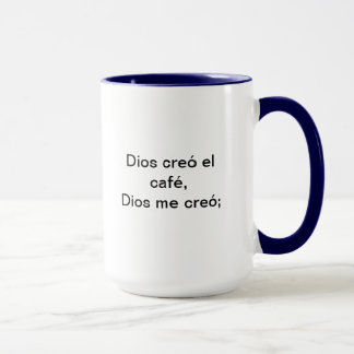 the miracles of God Mug