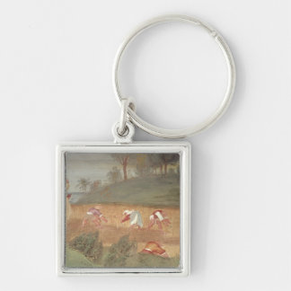The Miracles of St Clare of Assisi Key Chain
