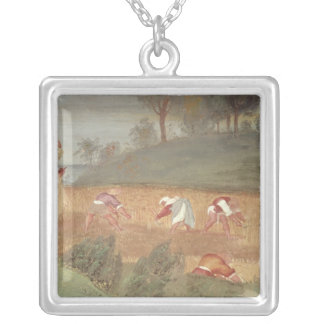The Miracles of St. Clare of Assisi Silver Plated Necklace