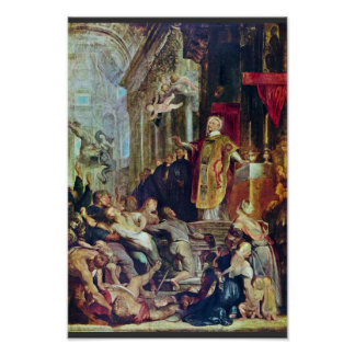 The Miracles Of St. Ignatius Of Loyola By Rubens Posters