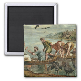 The Miraculous Draught of Fishes (cartoon for the 2 Inch Square Magnet