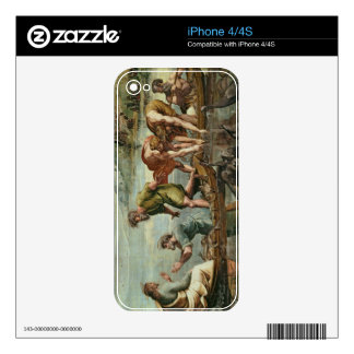 The Miraculous Draught of Fishes (cartoon for the iPhone 4 Skin